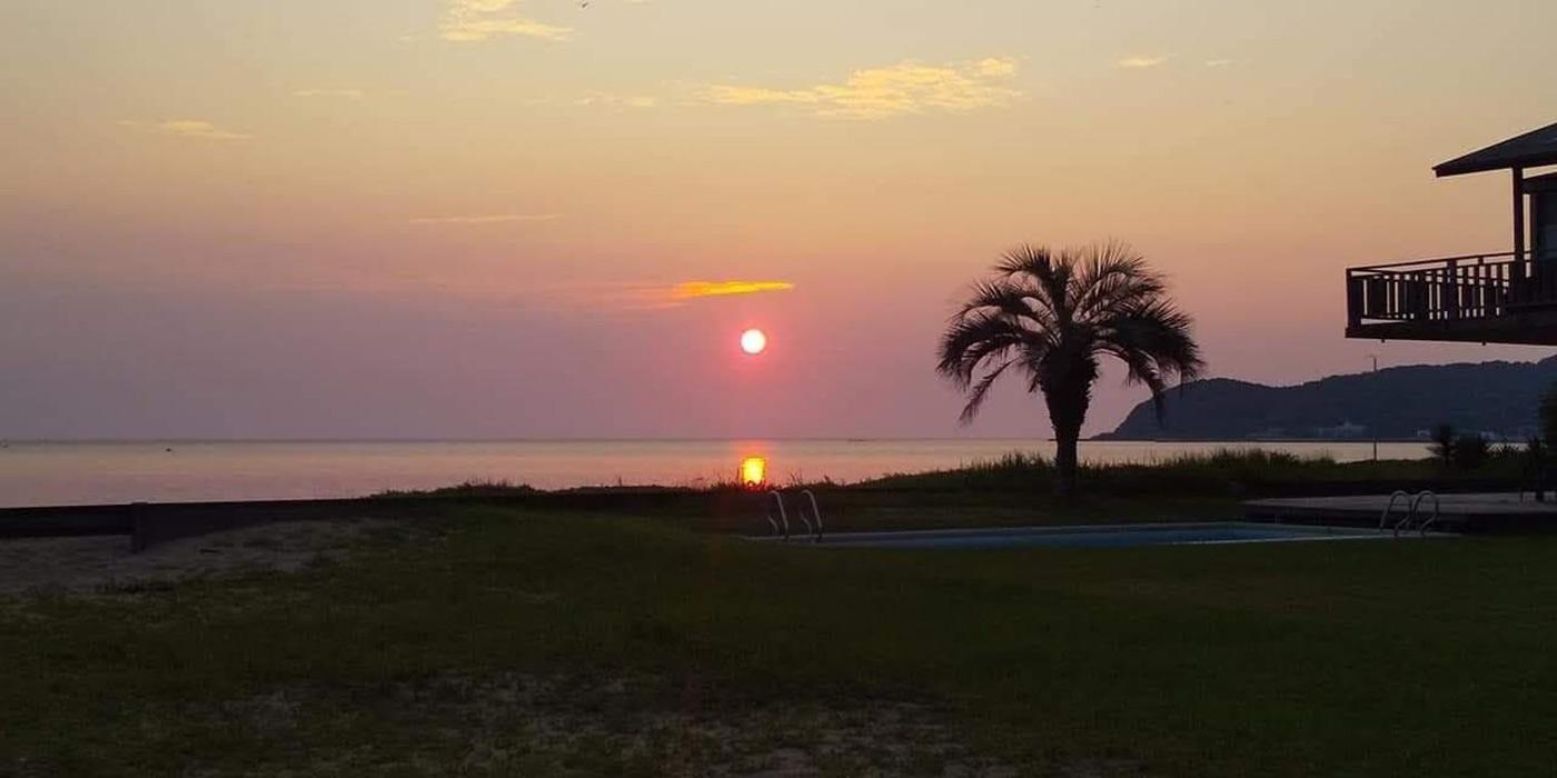 津屋崎の夕陽